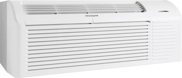 PTAC unit with Heat Pump and Electric Heat backup 9,000 BTU 208/230V with Corrosion Guard and Dry Mode White FFRP092HT3