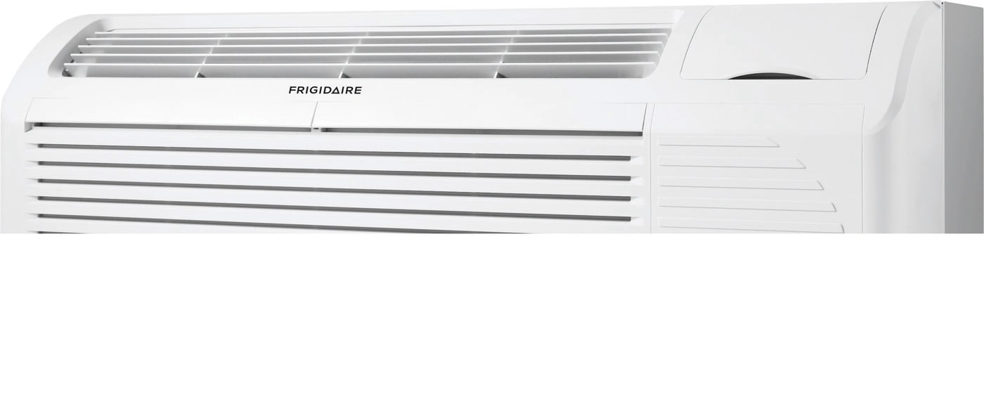 PTAC unit with Heat Pump and Electric Heat backup 12,000 BTU 265V with Corrosion Guard and Dry Mode White FFRP122HT6
