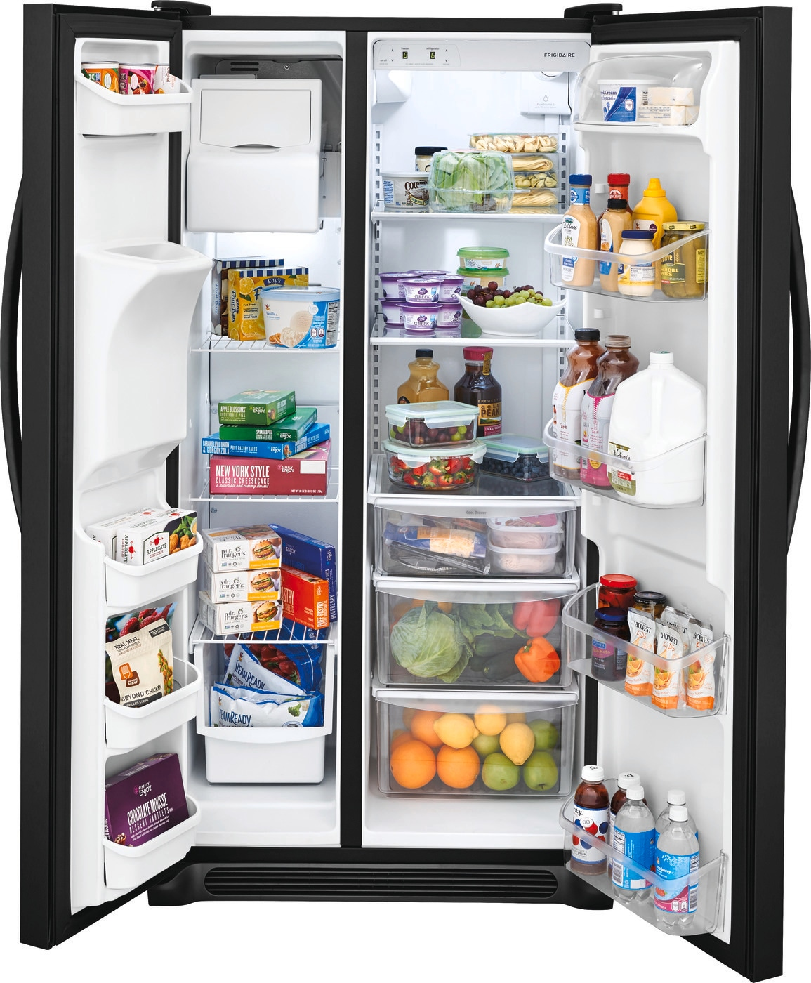 22.1 Cu. Ft. Side-by-Side Refrigerator Ebony Black FFSS2315TE