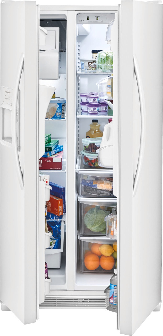 22.1 Cu. Ft. Side-by-Side Refrigerator Pearl White FFSS2315TP