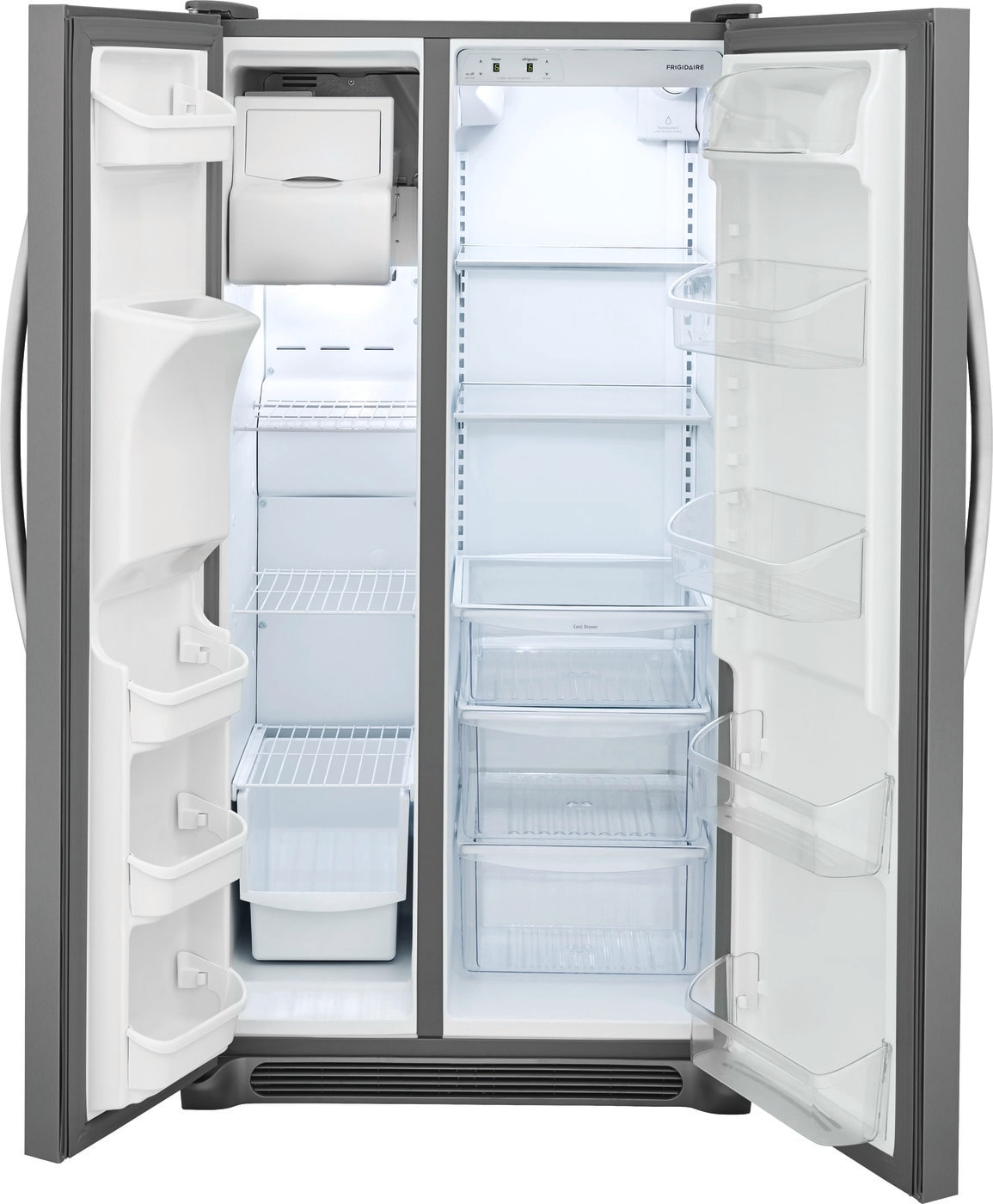 22.1 Cu. Ft. Side-by-Side Refrigerator Stainless Steel FFSS2315TS