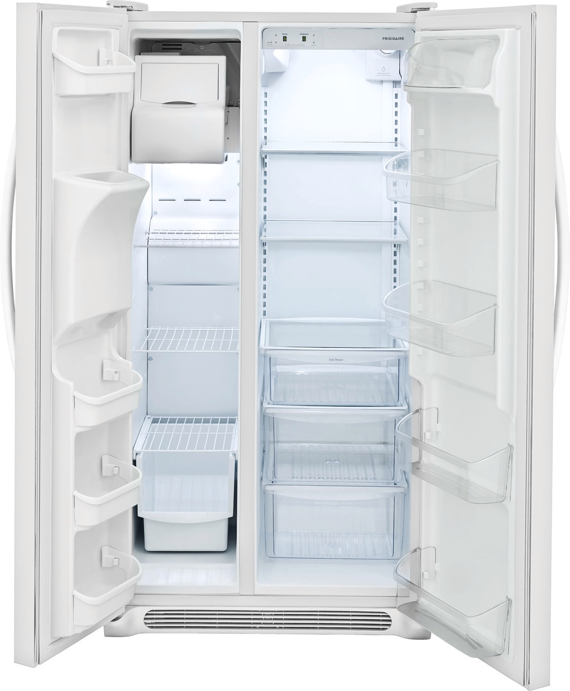 25.5 Cu. Ft. Side-by-Side Refrigerator Pearl White FFSS2615TP