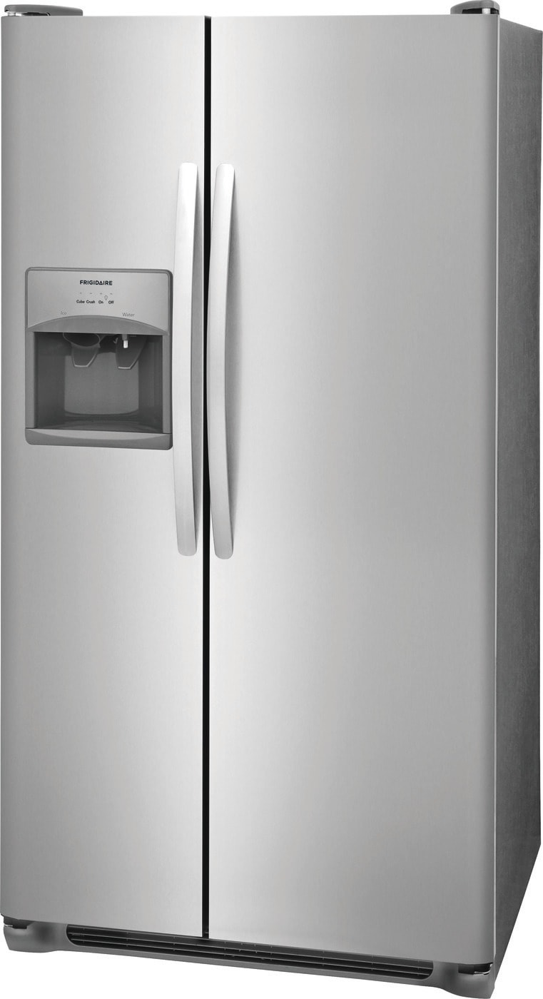 25.5 Cu. Ft. Side-by-Side Refrigerator Stainless Steel FFSS2615TS
