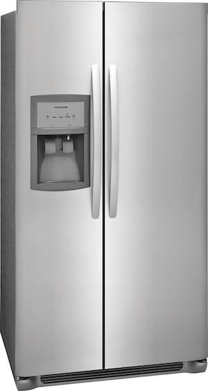 25.5 Cu. Ft. Side-by-Side Refrigerator Stainless Steel FFSS2625TS