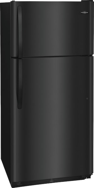 18 Cu. Ft. Top Freezer Refrigerator Black FFTR1814TB