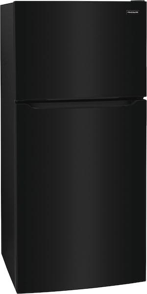 Réfrigérateur avec congélateur supérieur de 18,3 pi cu Noir FFHT1835VB