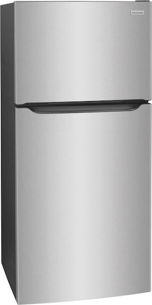 Réfrigérateur avec congélateur supérieur de 18,3 pi cu Acier inoxydable FFTR1835VS