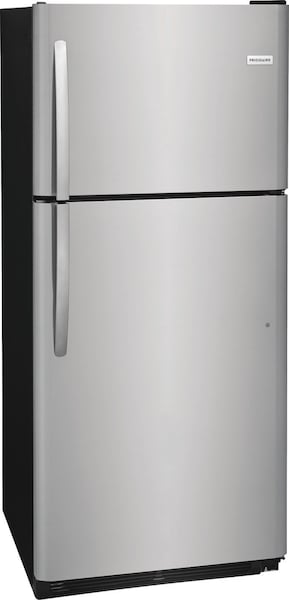 20.4 Cu. Ft. Top Freezer Refrigerator Stainless Steel FFTR2021TS