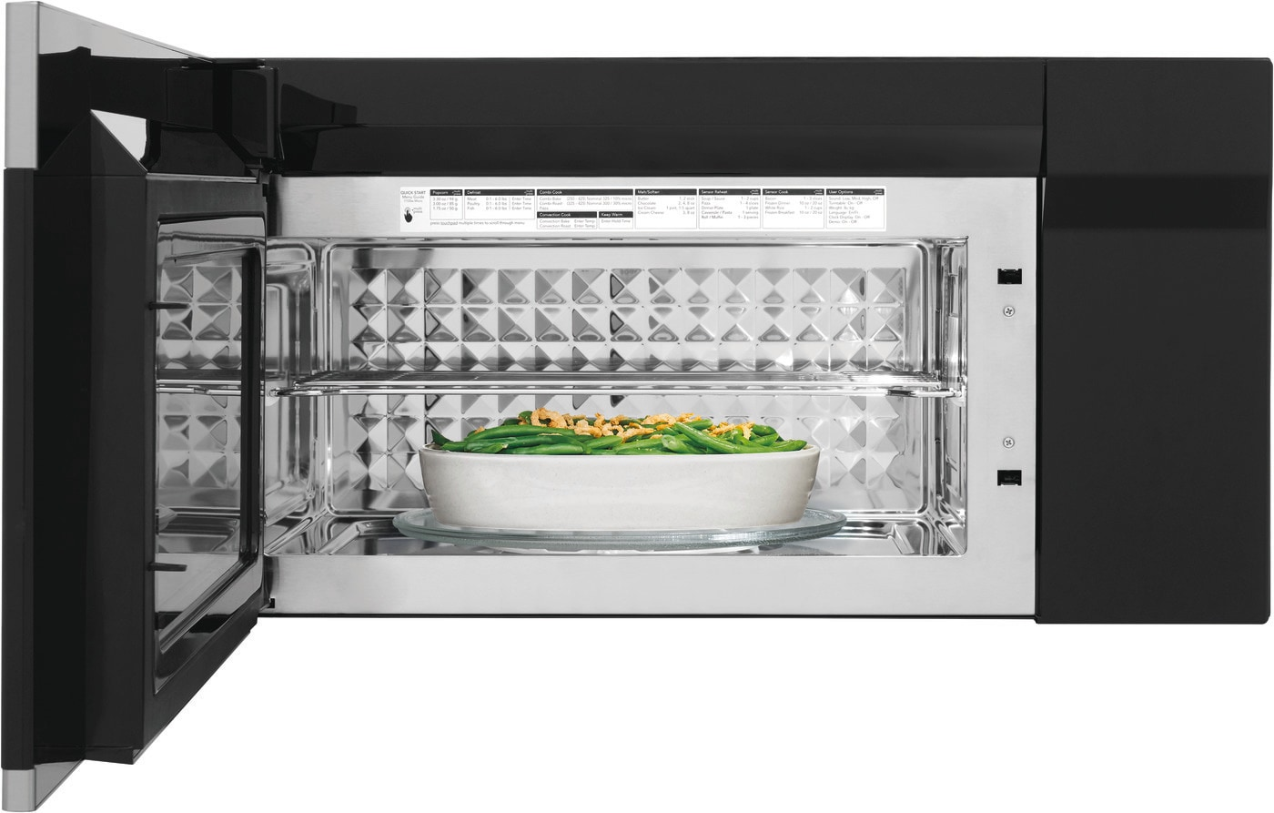 1.5 Cu. Ft. Over-The-Range Microwave with Convection Stainless Steel FGBM15WCVF