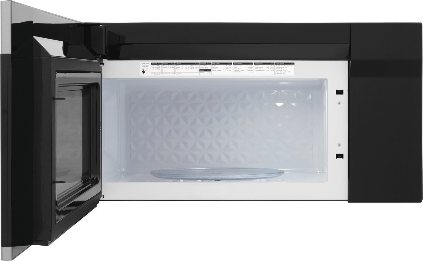 1.9 Cu. Ft. Over-The-Range Microwave Black Stainless Steel FGBM19WNVD