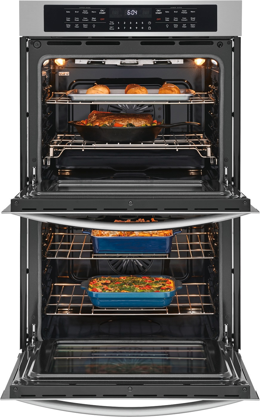 "30"" Double Electric Wall Oven Stainless Steel FGET3066UF"
