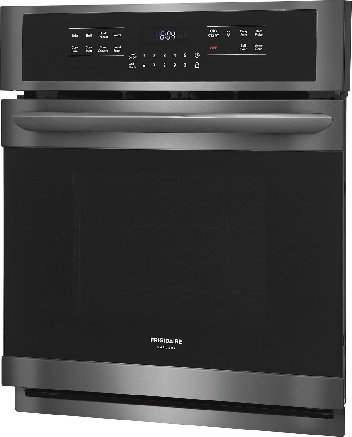 "27"" Single Electric Wall Oven Black Stainless Steel FGEW2766UD"