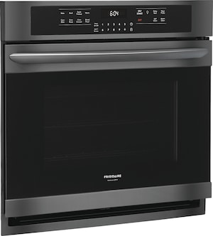 """30"""" Single Electric Wall Oven Black Stainless Steel FGEW3066UD"""