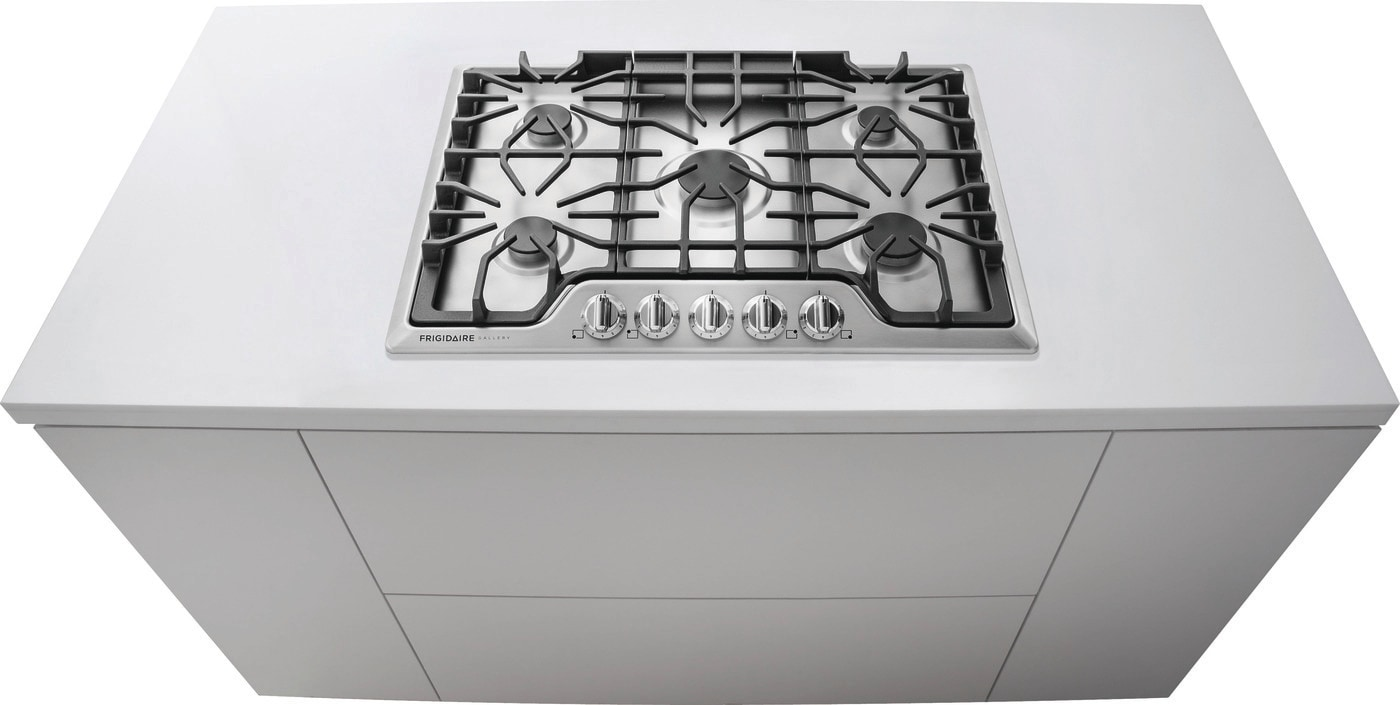 "30"" Gas Cooktop Stainless Steel FGGC3047QS"