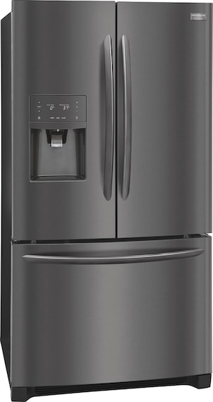 26.8 Cu. Ft. French Door Refrigerator Black Stainless Steel FGHB2868TD