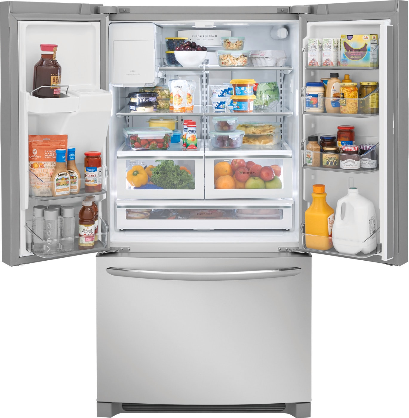 26.8 Cu. Ft. French Door Refrigerator Stainless Steel FGHB2868TF