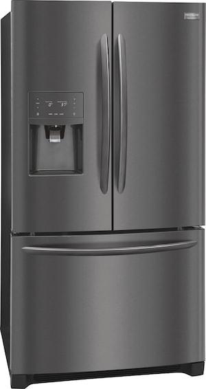 Réfrigérateur avec porte à deux battants, profondeur de comptoir de 21,7 pi cu Acier inoxydable noir FGHD2368TD