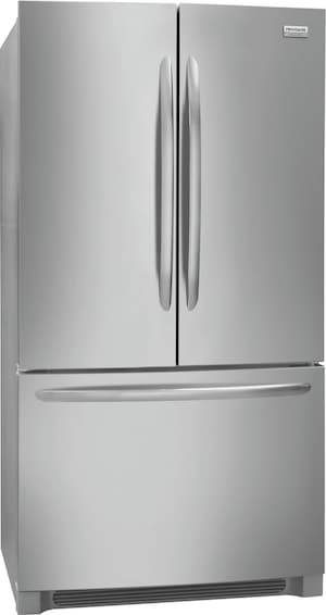 22.4 Cu. Ft. Counter-Depth French Door Refrigerator Stainless Steel FGHG2368TF