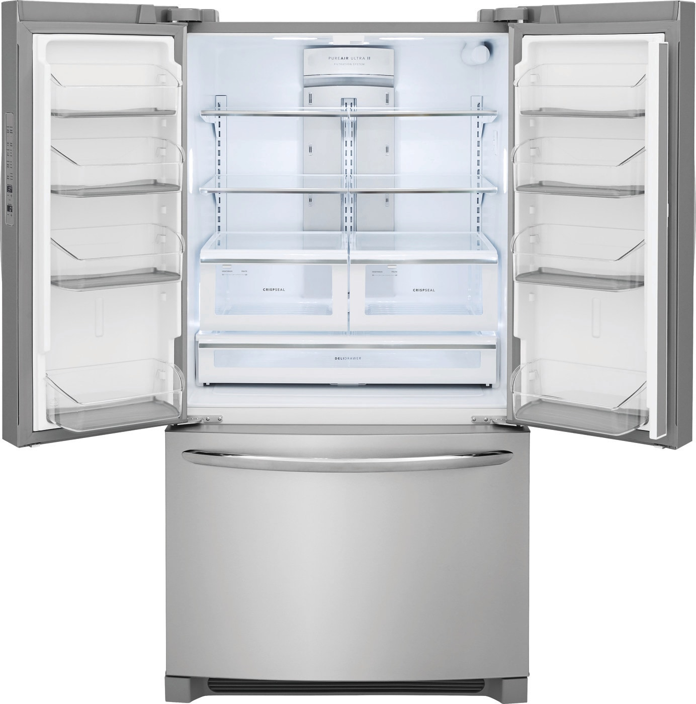 27.6 Cu. Ft. French Door Refrigerator Stainless Steel FGHN2868TF