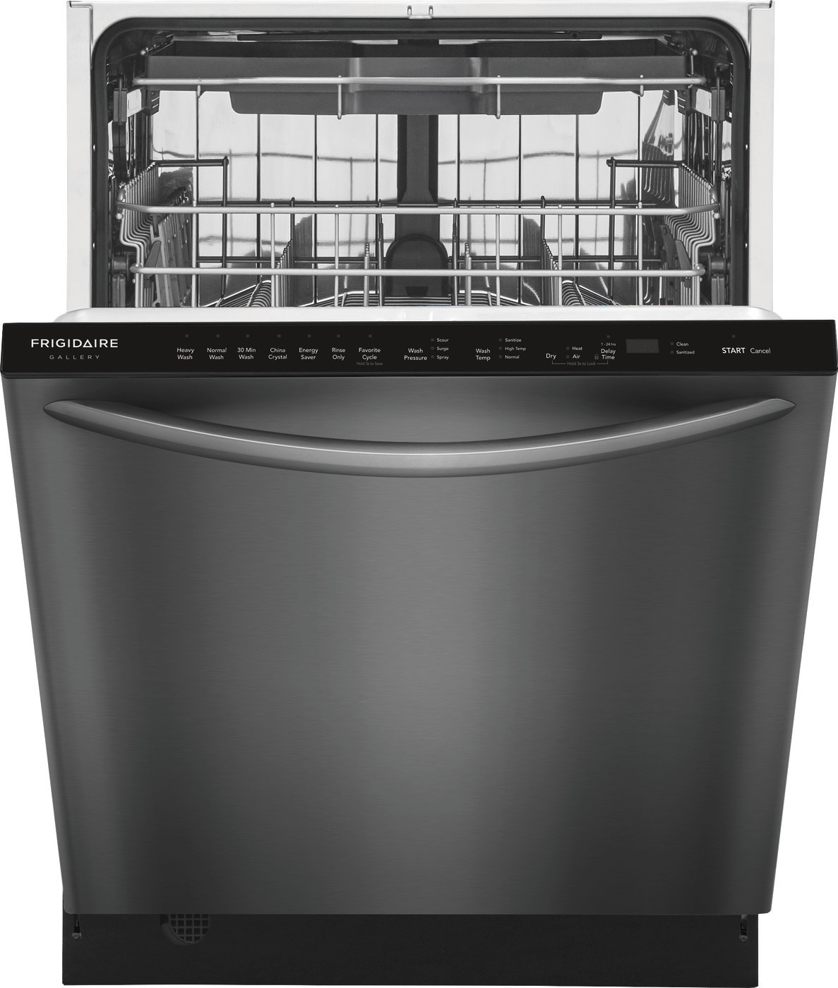 "24"" Built-In Dishwasher with EvenDry™ System Black Stainless Steel FGID2479SD"