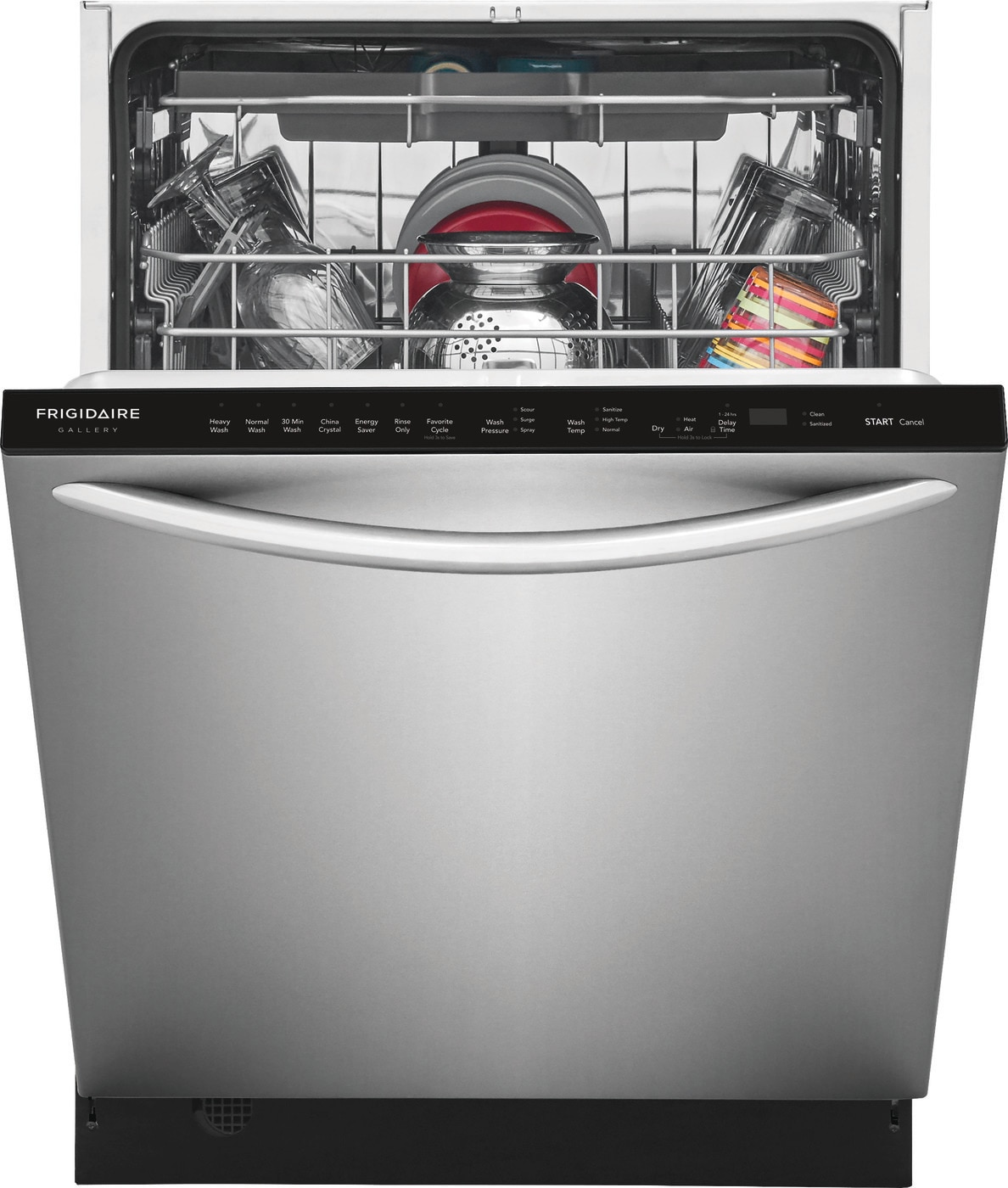 Frigidaire Gallery 24 Built In Dishwasher With Evendry System Stainless Steel Fgid2479sf