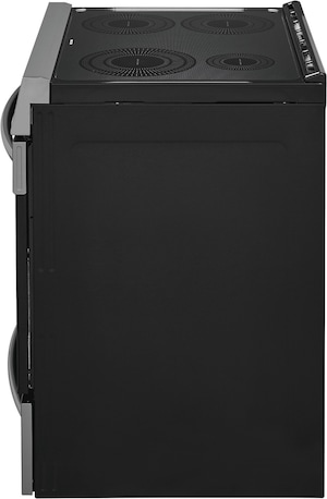 """30"""" Front Control Induction Range with Air Fry Black Stainless Steel CGIH3047VD"""