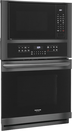 """27"""" Electric Wall Oven/Microwave Combination Black Stainless Steel FGMC2766UD"""