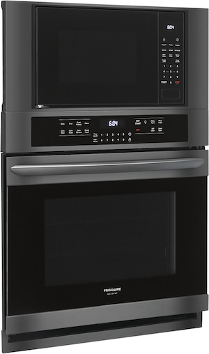 "30"" Electric Wall Oven/Microwave Combination Black Stainless Steel FGMC3066UD"