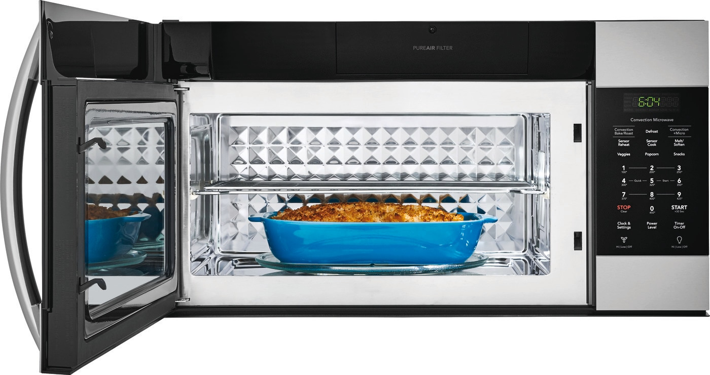 1.5 Cu. Ft. Over-The-Range Microwave with Convection Stainless Steel FGMV155CTF