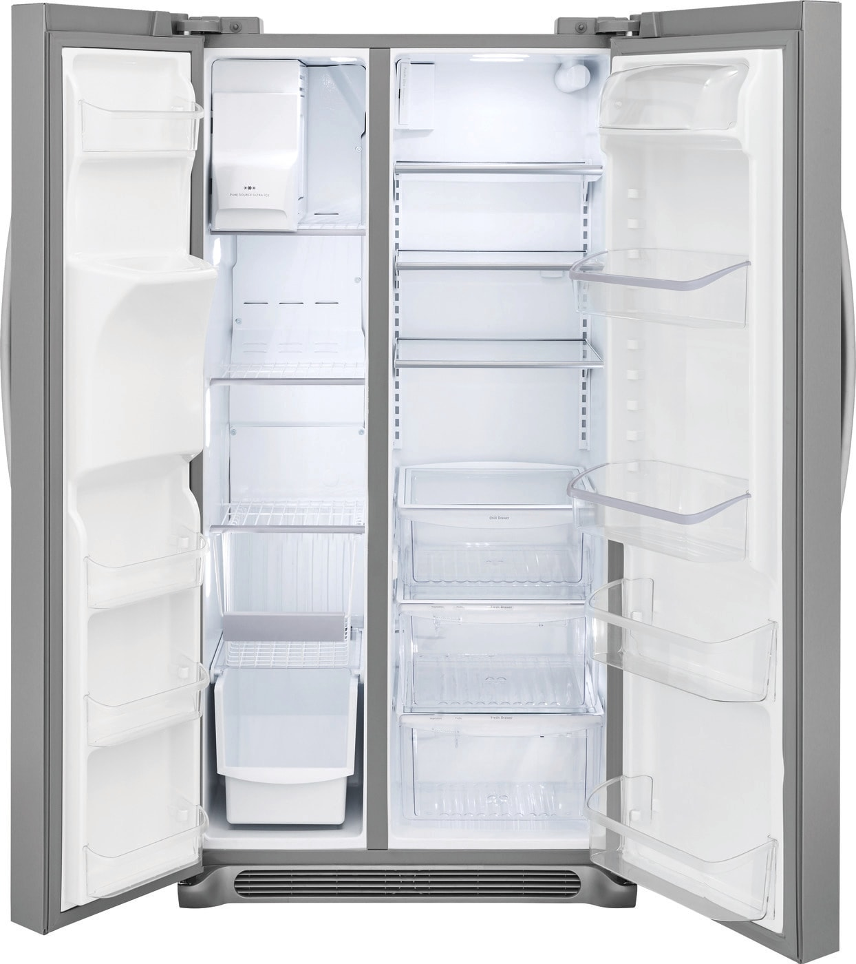 25.5 Cu. Ft. Side-by-Side Refrigerator Stainless Steel FGSS2635TF