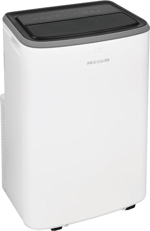 13,000 BTU Portable Room Air Conditioner with Heat Pump and Dehumidifier Mode White FHPH132AB1
