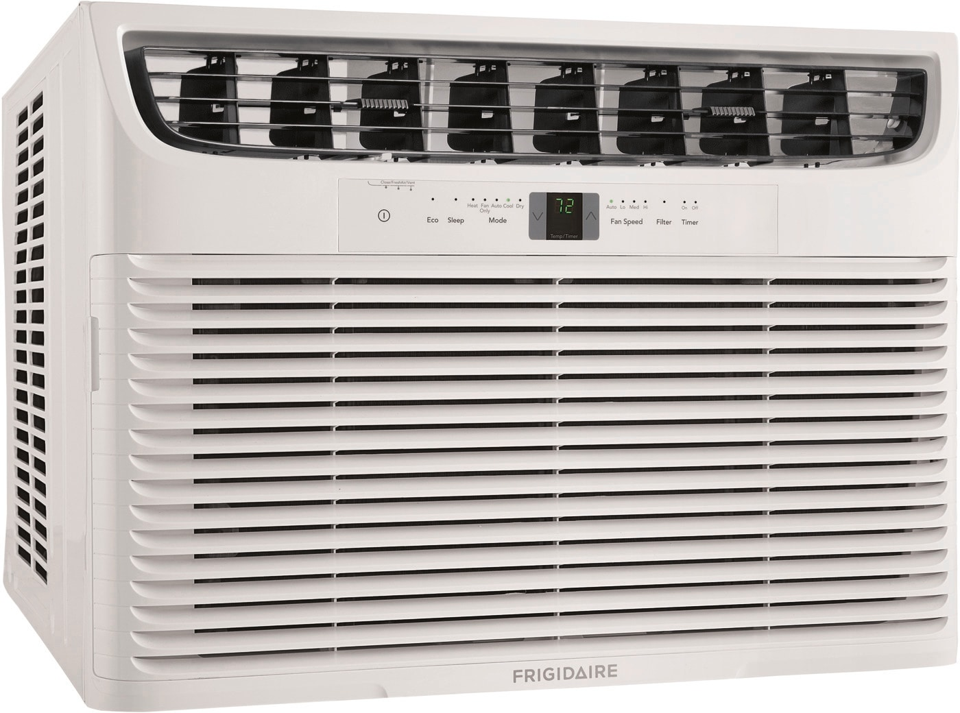 Frigidaire 18,500 BTU Window Air Conditioner with Supplemental Heat and Slide Out Chassis, FHWE182WA2