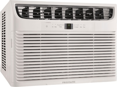 18,500 BTU Window Air Conditioner with Supplemental Heat and Slide Out Chassis White FHWE182WA2