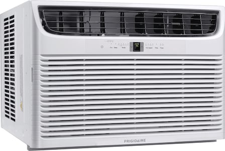 Frigidaire 25,000 BTU Window Air Conditioner with Supplemental Heat and Slide Out Chassis White FHWE252WA2