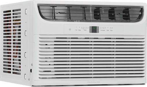 Frigidaire 8,000 BTU Window Air Conditioner with Supplemental Heat and Slide Out Chassis White FHWH082WA1