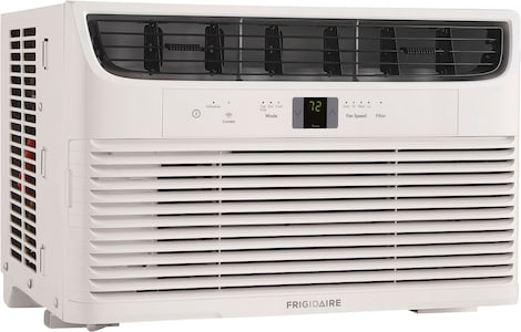 8,000 BTU Connected Window Air Conditioner White FHWW082WCE