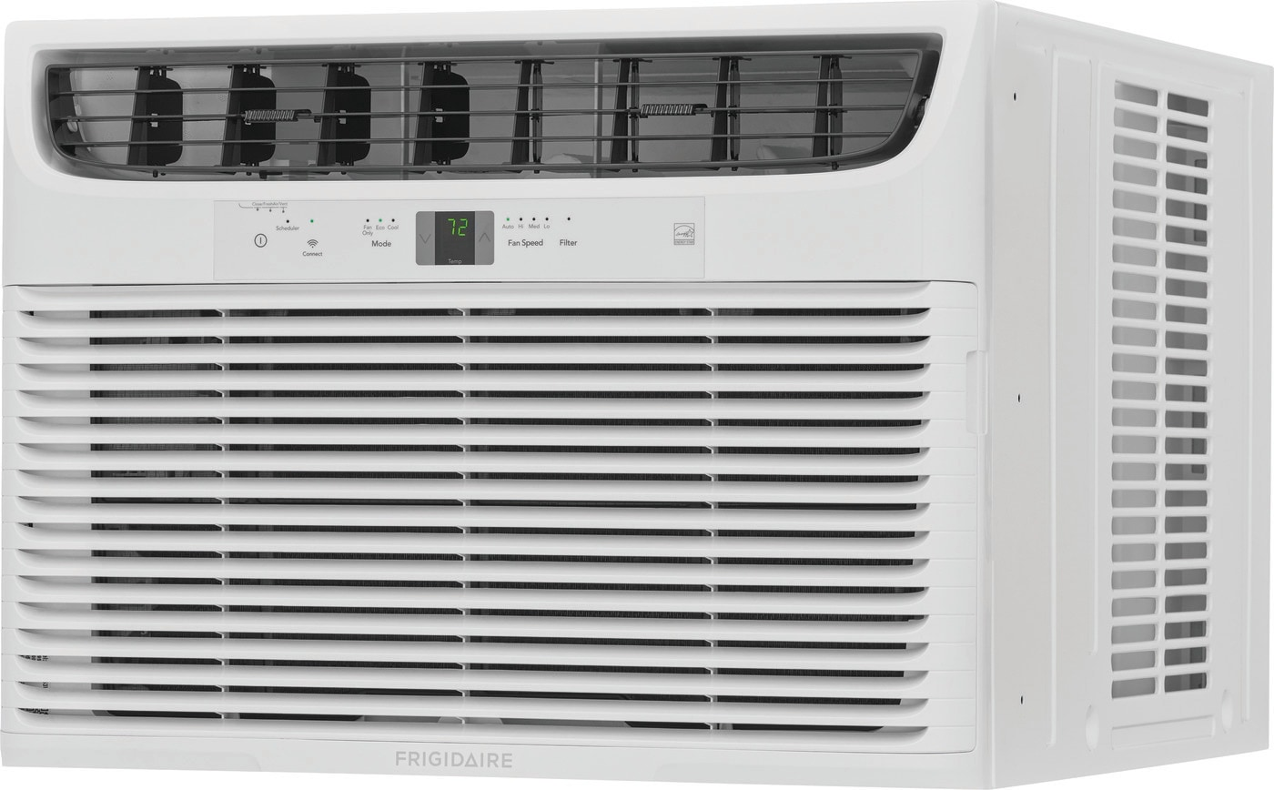 Frigidaire 18,000 BTU Connected Window Air Conditioner with Slide Out Chassis White FHWW183WC2
