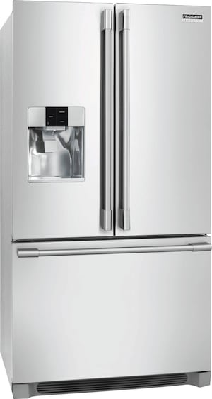 21.6 Cu. Ft. French Door Counter-Depth Refrigerator Stainless Steel FPBC2278UF