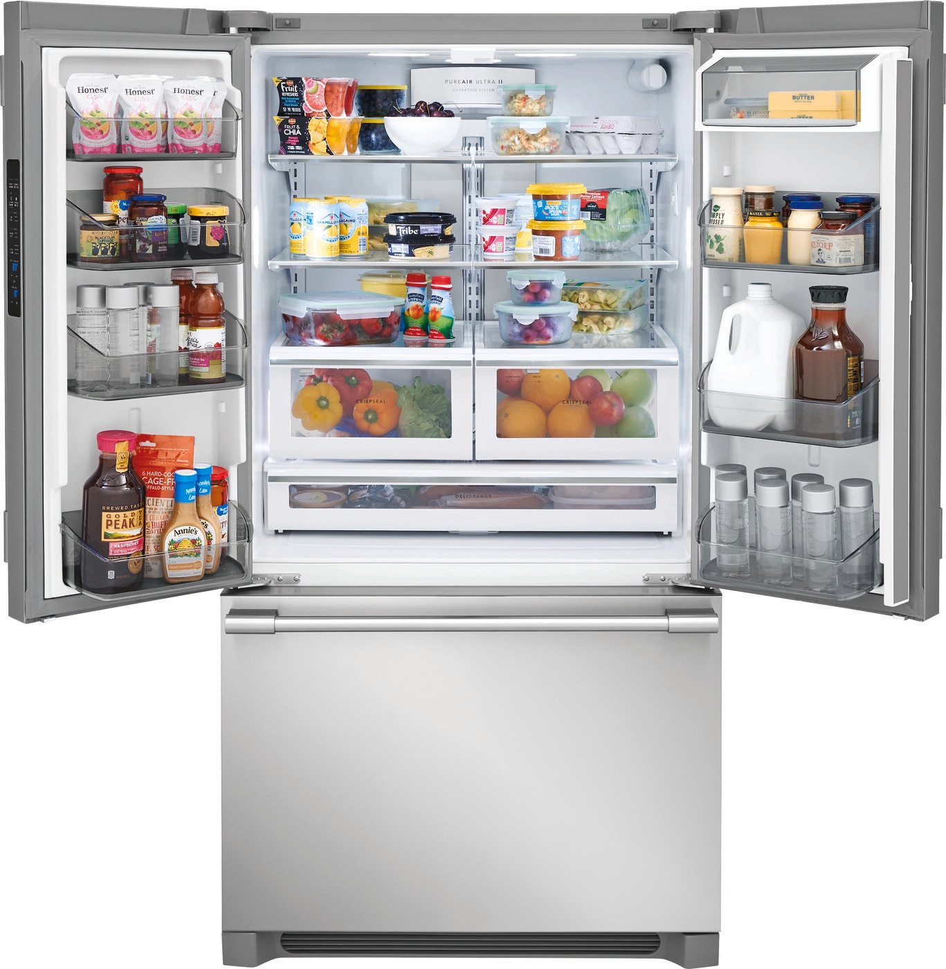 22.3 Cu. Ft. French Door Counter-Depth Refrigerator Stainless Steel FPBG2278UF