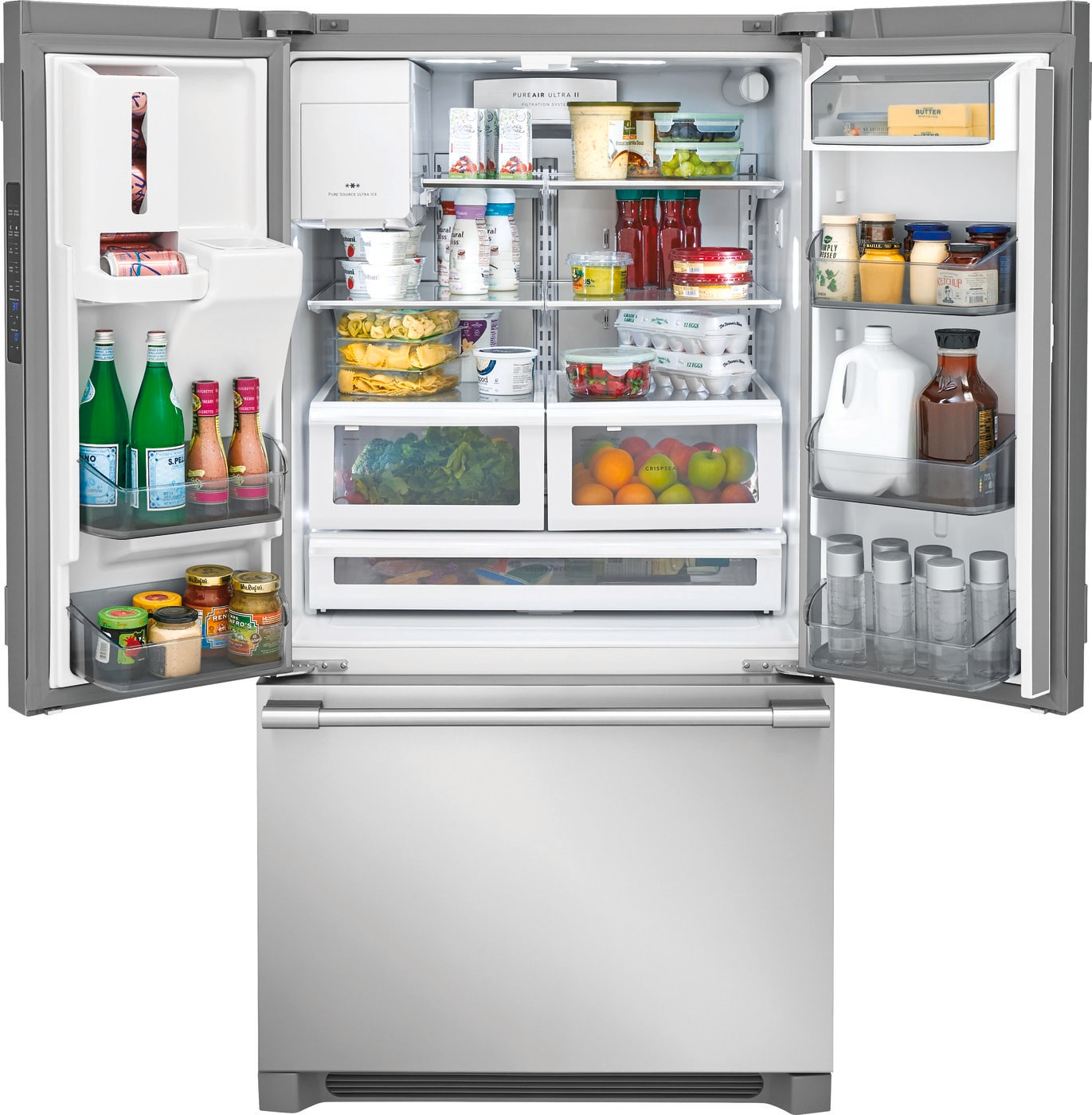 26.7 Cu. Ft. French Door Refrigerator Stainless Steel FPBS2778UF