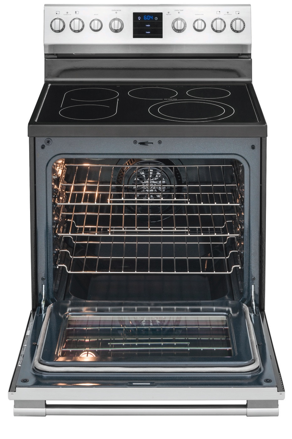 "30"" Freestanding Electric Range Stainless Steel FPEF3077QF"