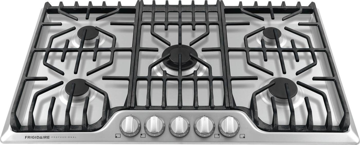 "36"" Gas Cooktop with Griddle Stainless Steel FPGC3677RS"