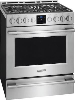"""30"""" Gas Front Control Freestanding Stainless Steel FPGH3077RF"""