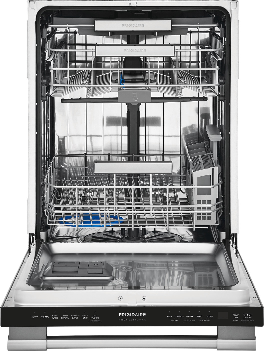 Frigidaire Professional 24 Built In Dishwasher With Evendry System Stainless Steel Fpid2498sf