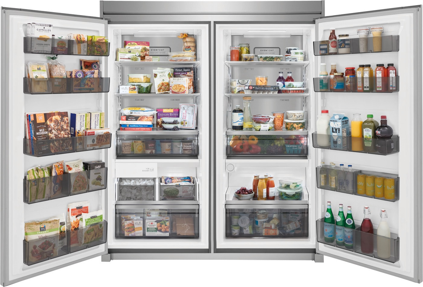 19 Cu. Ft. Single-Door Refrigerator Stainless Steel FPRU19F8WF