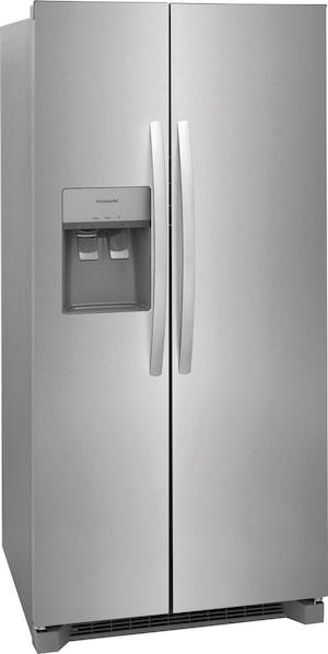 "22.3 Cu. Ft. 33"" Standard Depth Side by Side Refrigerator Stainless Steel FRSS2333AS"