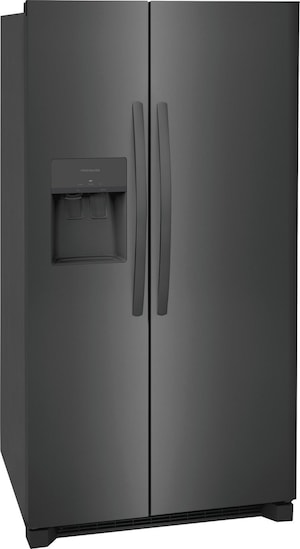 "25.6 Cu. Ft. 36"" Standard Depth Side by Side Refrigerator Black Stainless Steel FRSS2623AD"