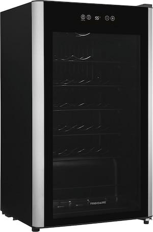 34-Bottle Wine Cooler Black with Stainless Steel Look FRWW3433AV