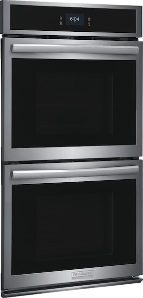 """27"""" Double Electric Wall Oven with Total Convection Stainless Steel GCWD2767AF"""