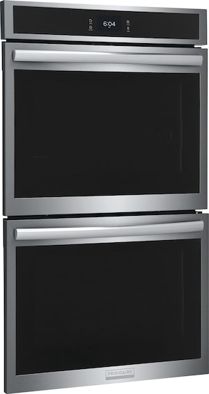 """30"""" Double Electric Wall Oven with Total Convection Stainless Steel GCWD3067AF"""